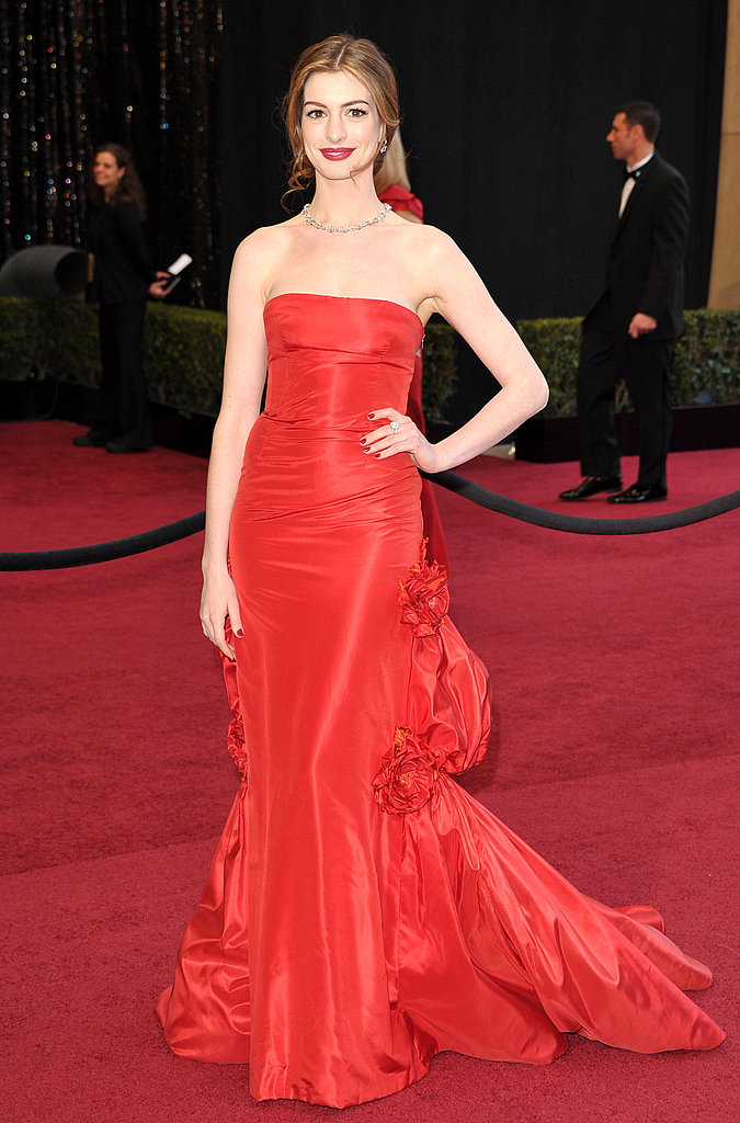 Anne Hathaway Celebrity Oscars Hairstyles