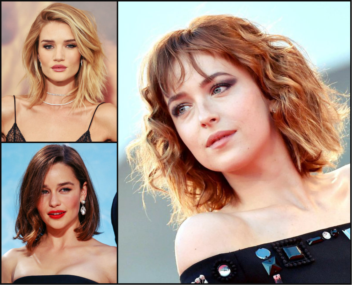 Best Celebrity Bob Haircuts SS16