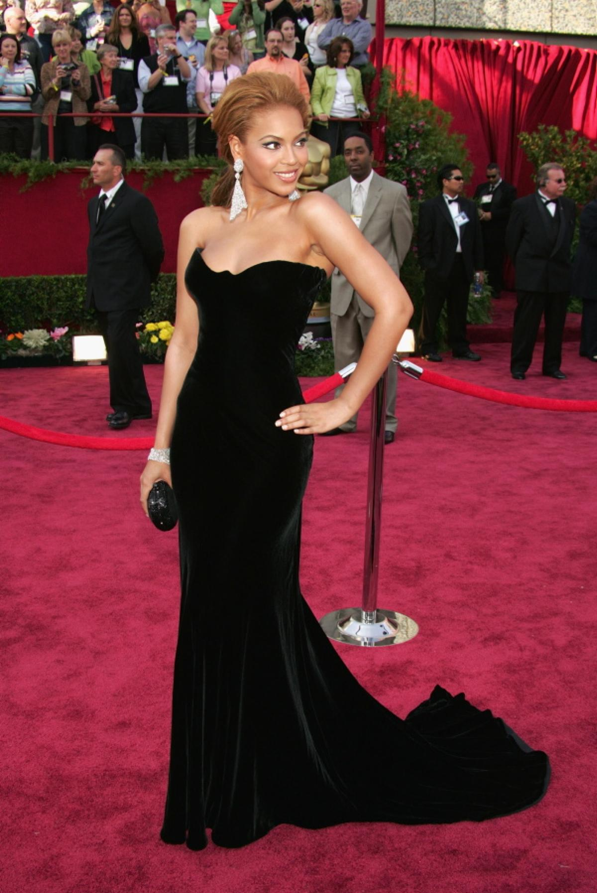 Beyonce Celebrity Oscars Hairstyles
