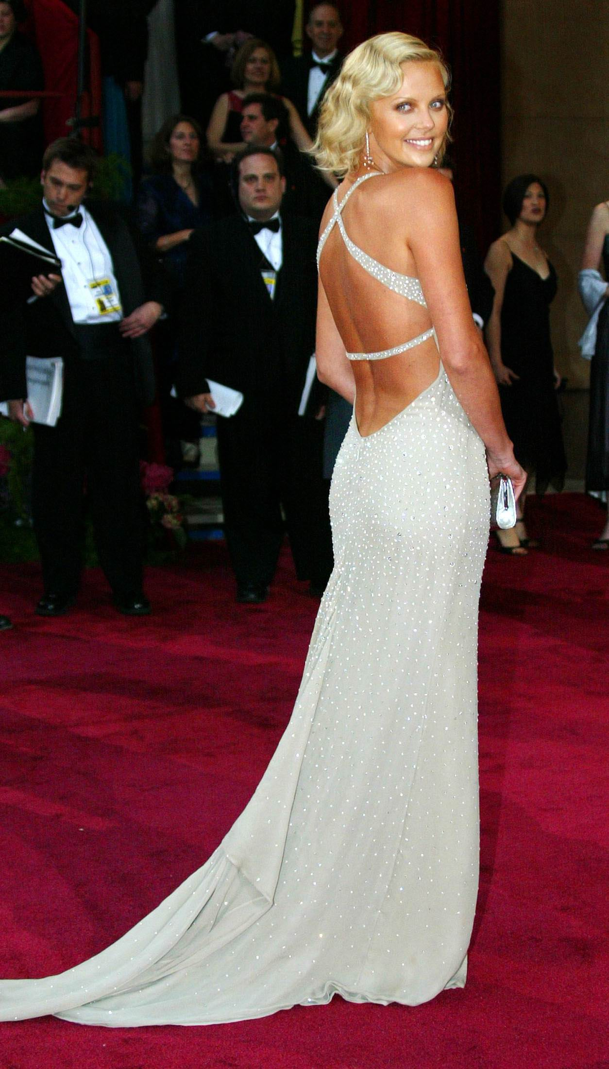 Charlize Theron Celebrity Oscars Hairstyles
