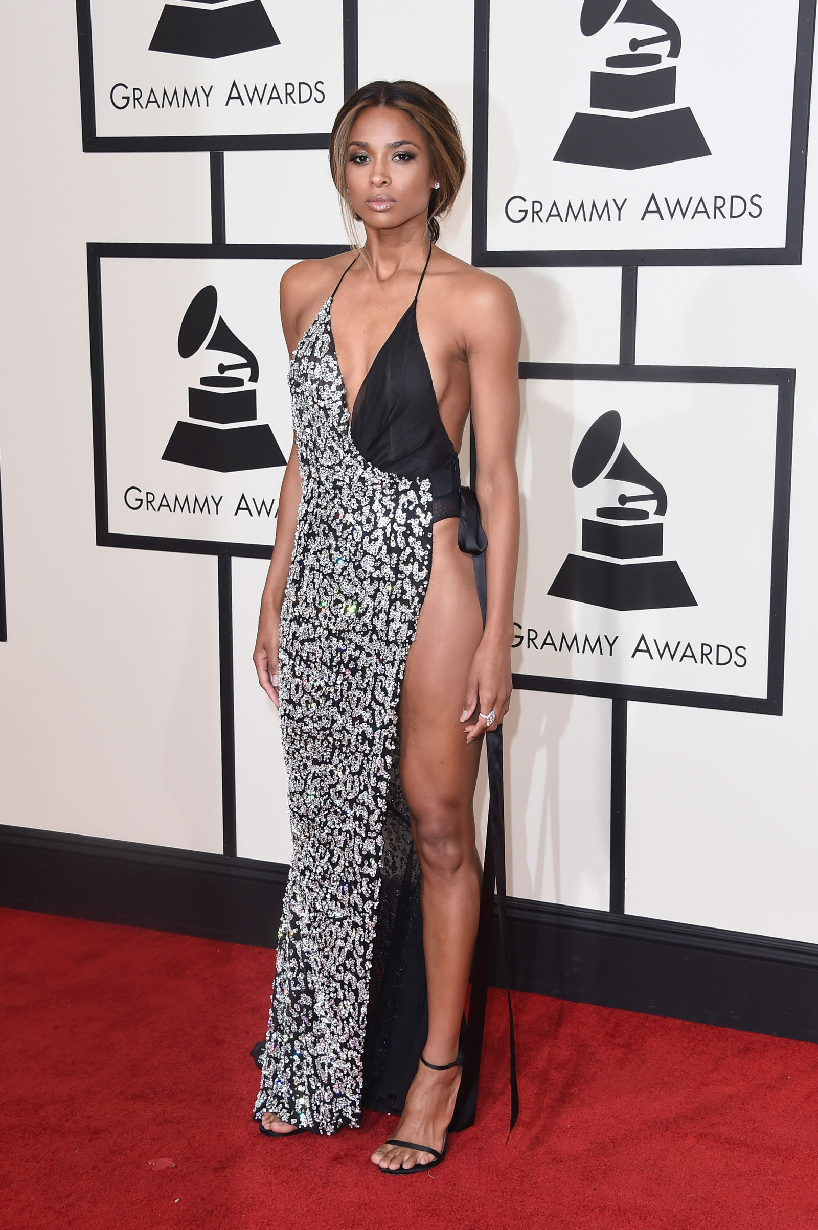 Ciara celebrity hairstyles 2016 Grammys