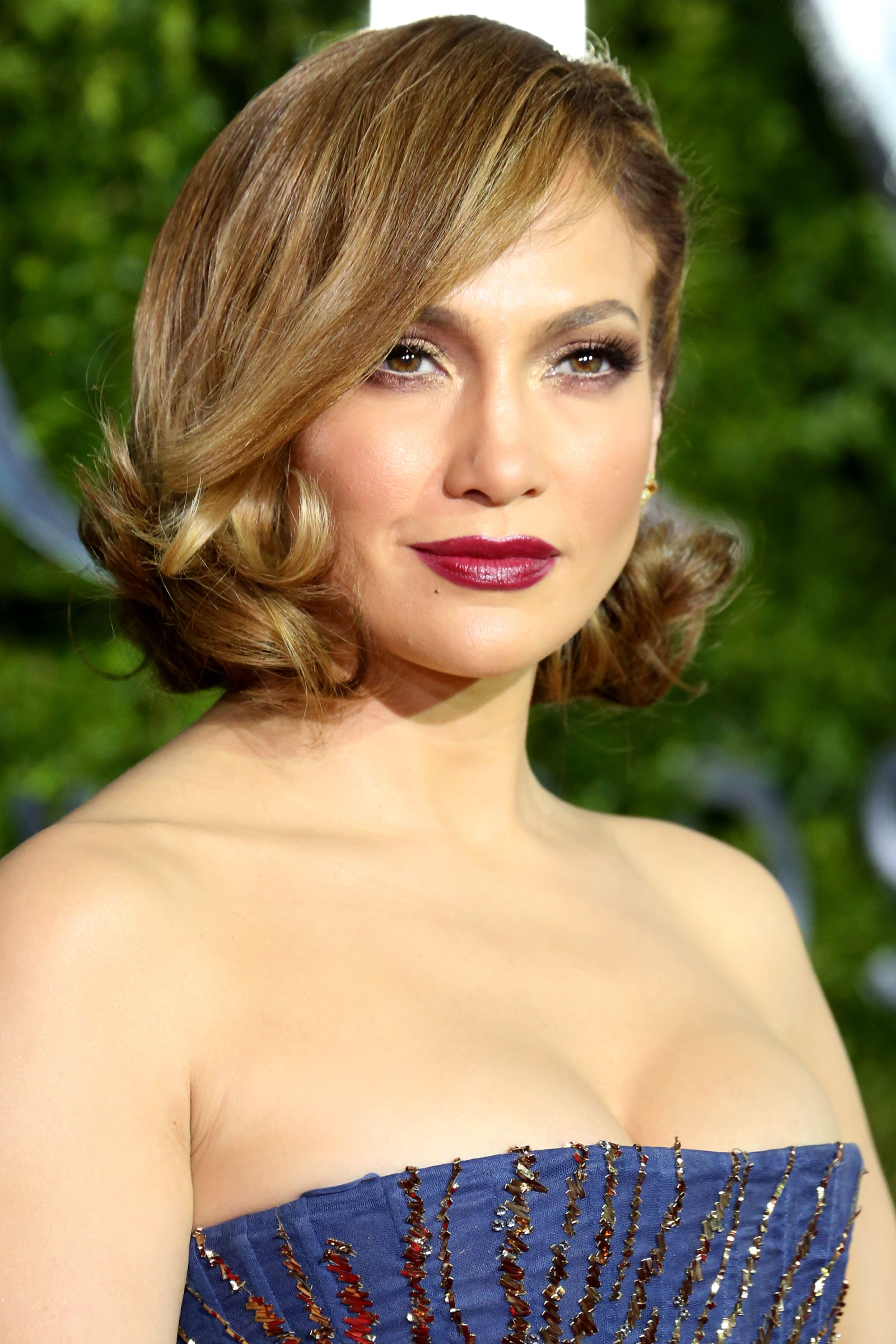 Jennifer Lopez Celebrity Bob Haircuts 2016