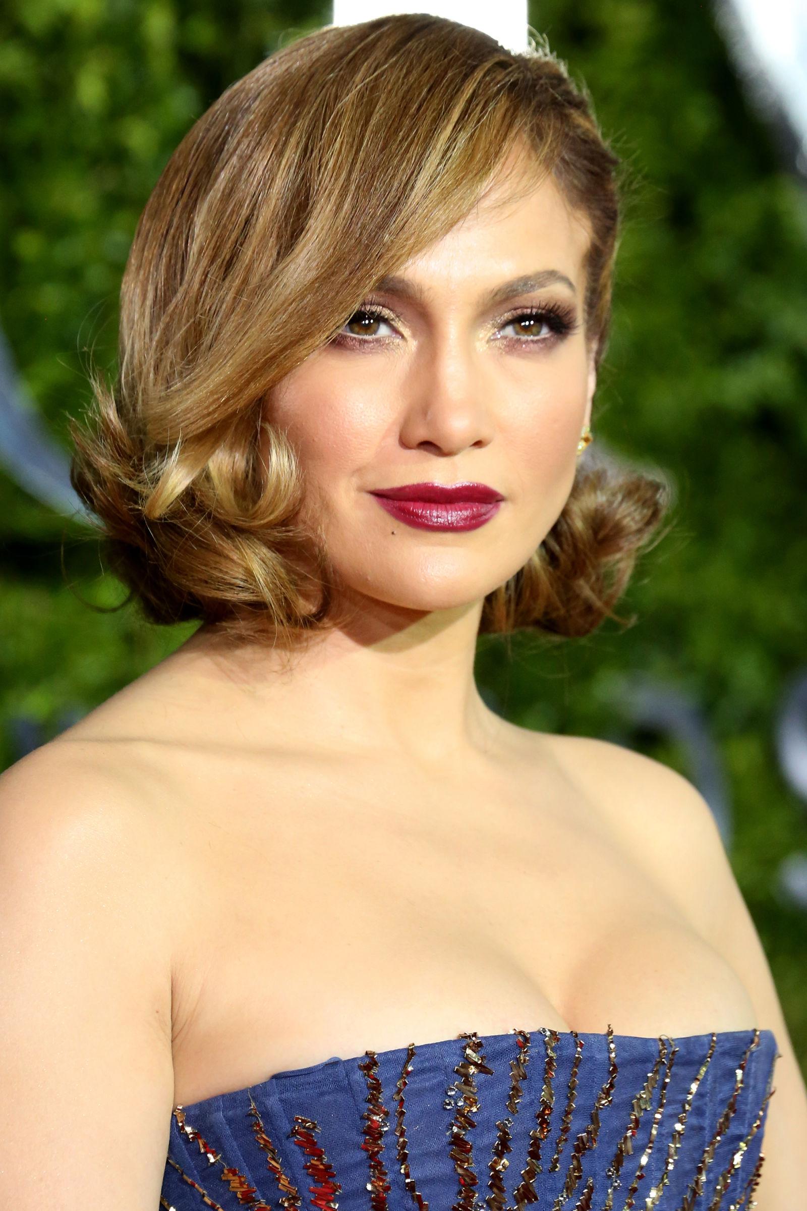 Jennifer Lopez Celebrity Bob Haircuts 2016