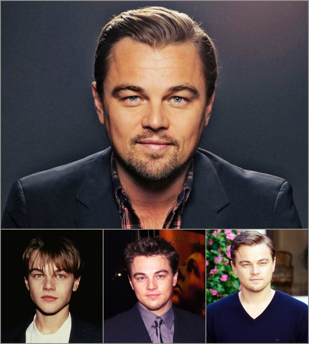 Leonardo DiCaprio Hairstyles Makeover | OWESOME HAIRSTYLE FOR MAN