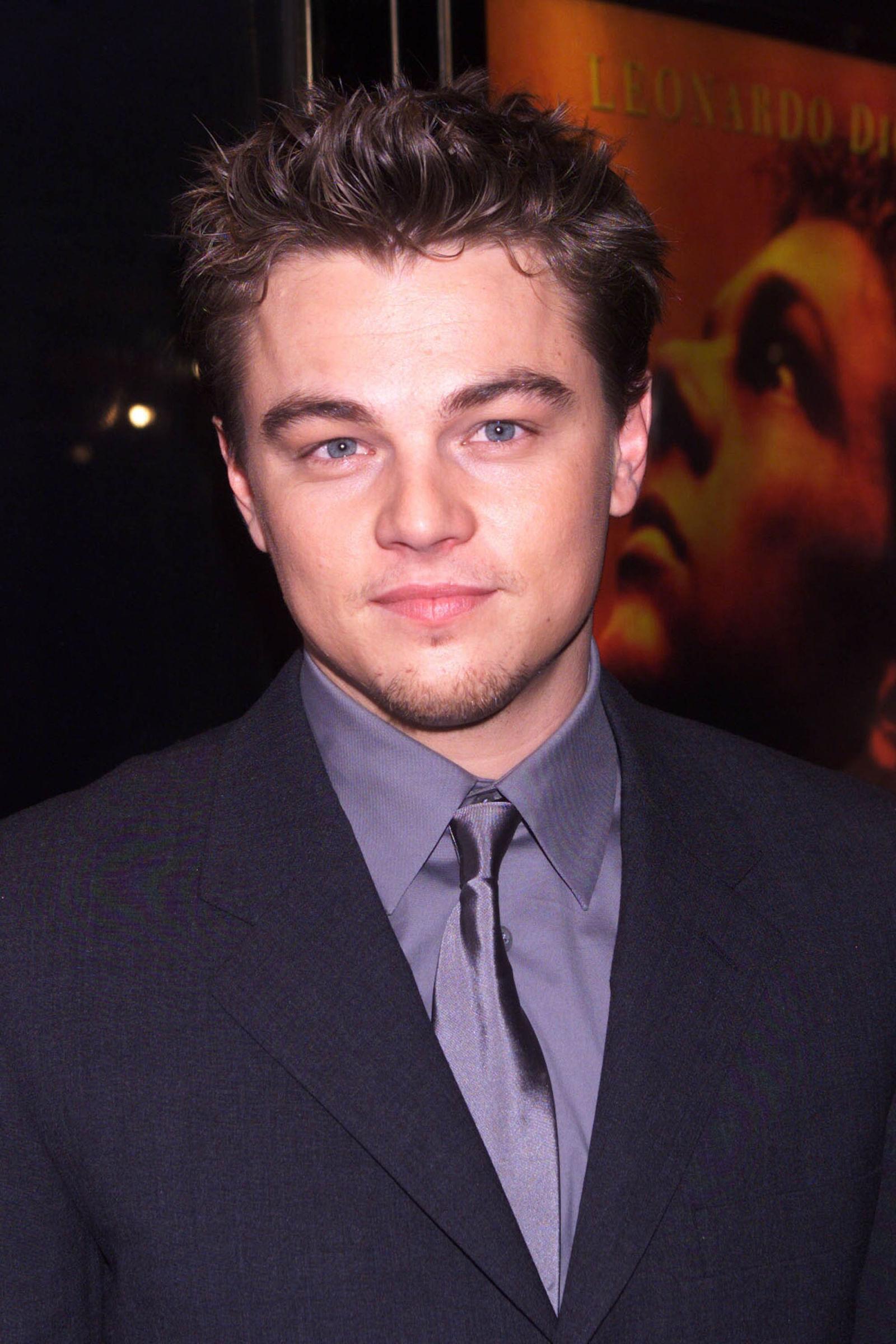 Leonardo diCaprio celebrity hairstyles 2000