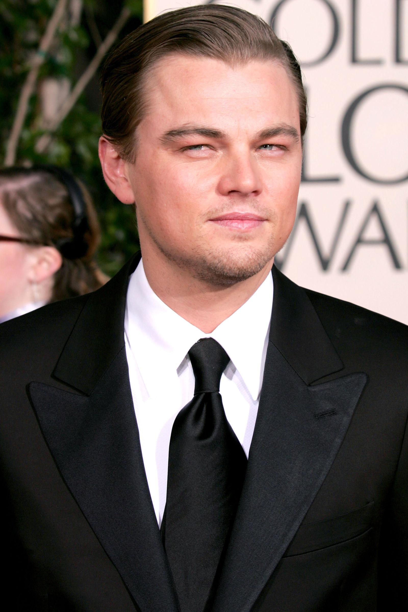 Leonardo diCaprio celebrity hairstyles 2005