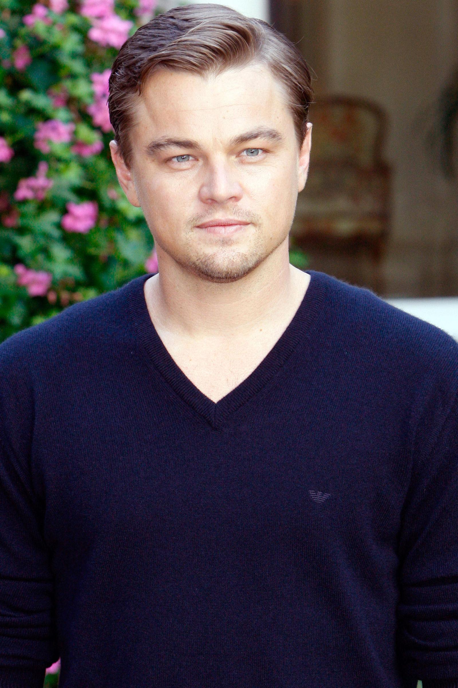 Leonardo diCaprio celebrity hairstyles 2008