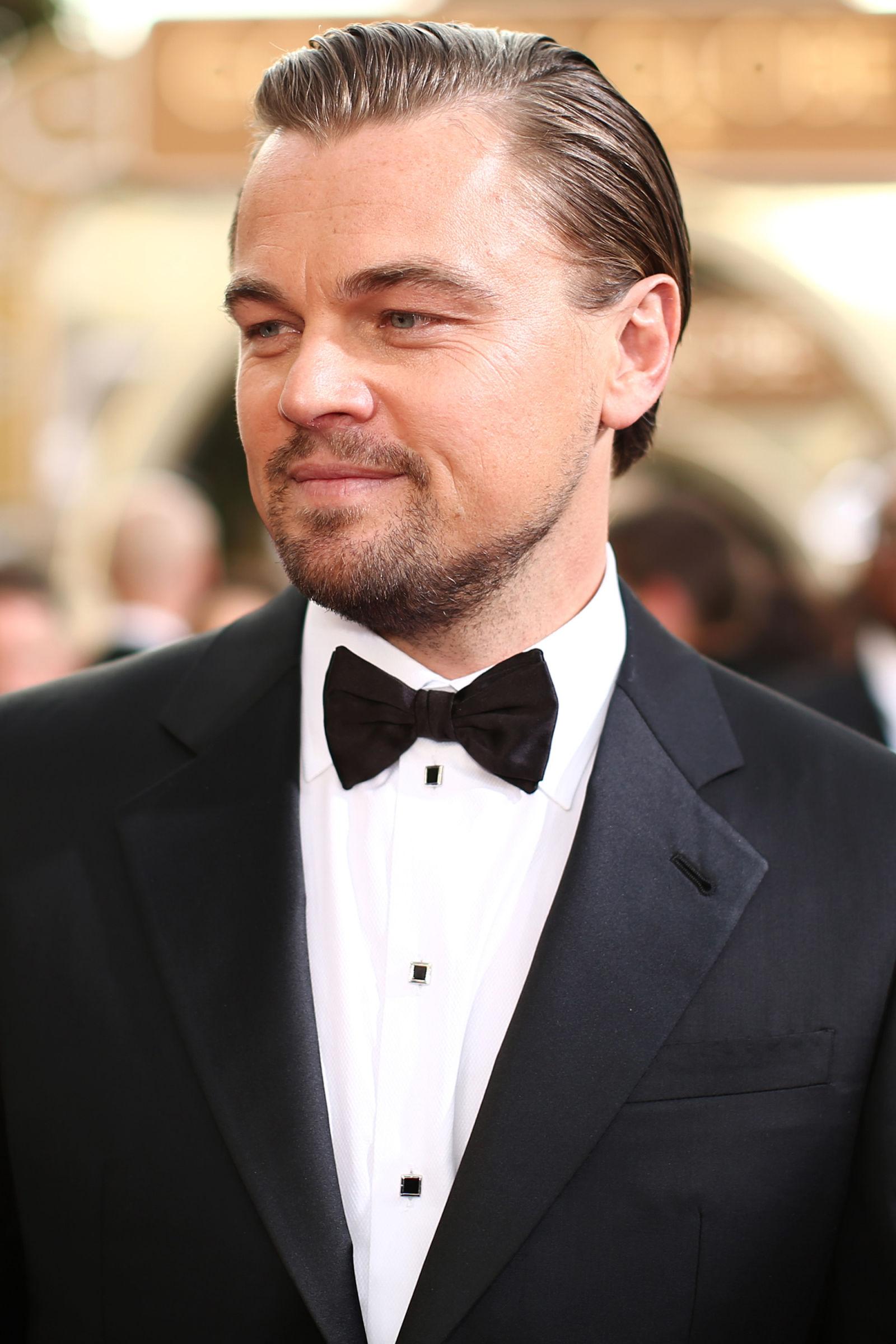 Leonardo diCaprio celebrity hairstyles 2014