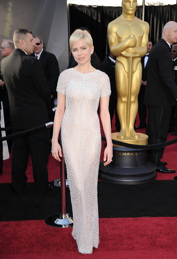 Michelle Williams Celebrity Oscars Hairstyles