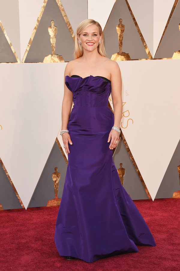 peinados Reese Witherspoon en los premios Oscar's 2016