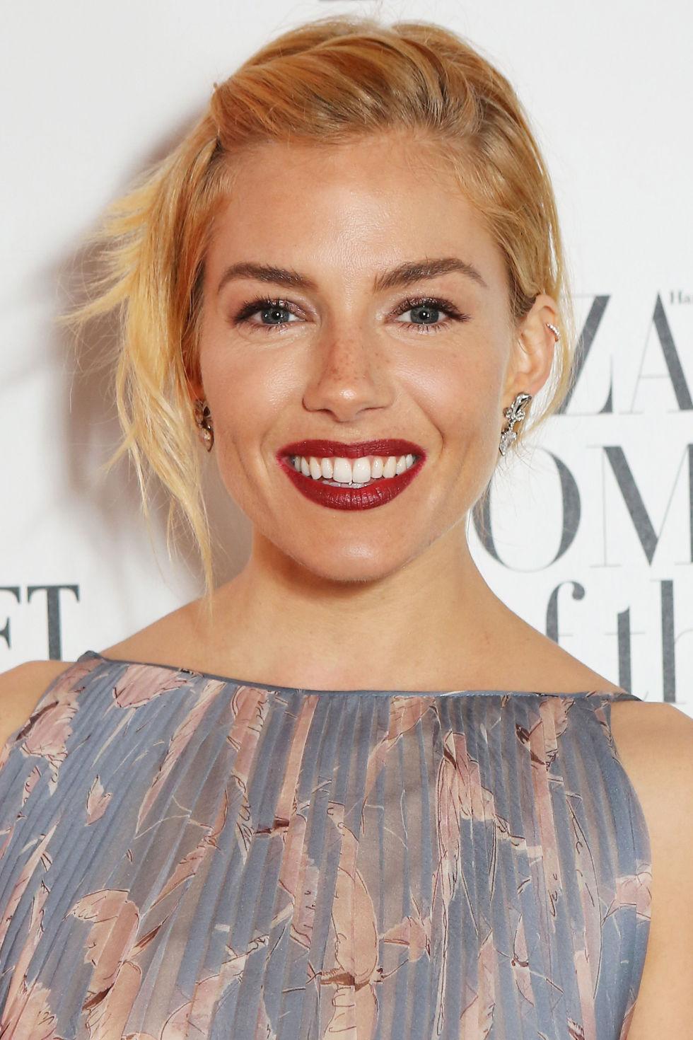 Sienna Miller celebrity hairstyles