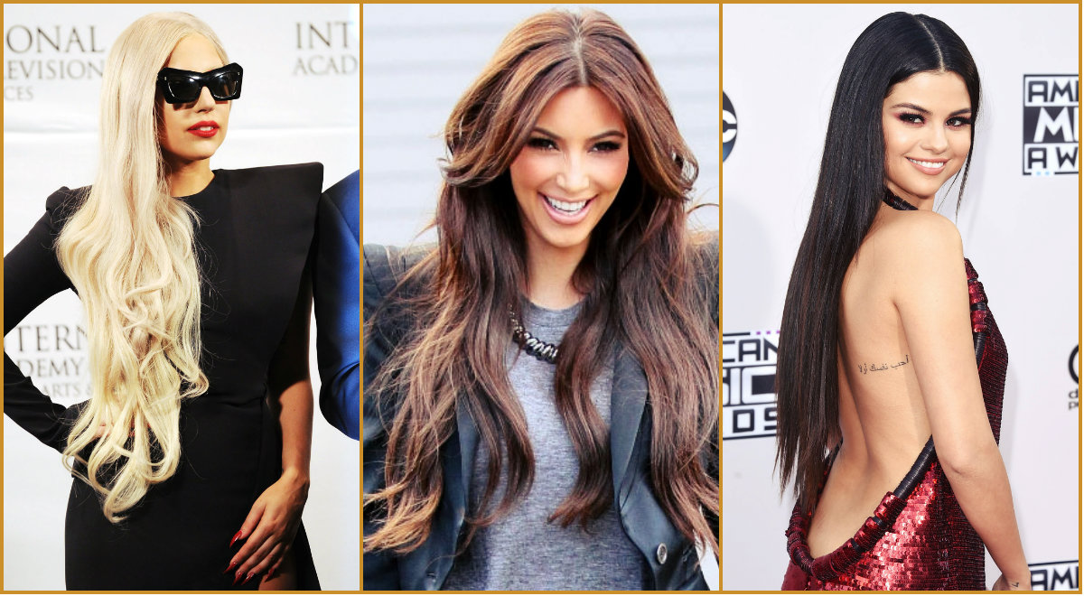 Spectacular Celebrity Long Hairstyles Spectacular Celebrity Long
