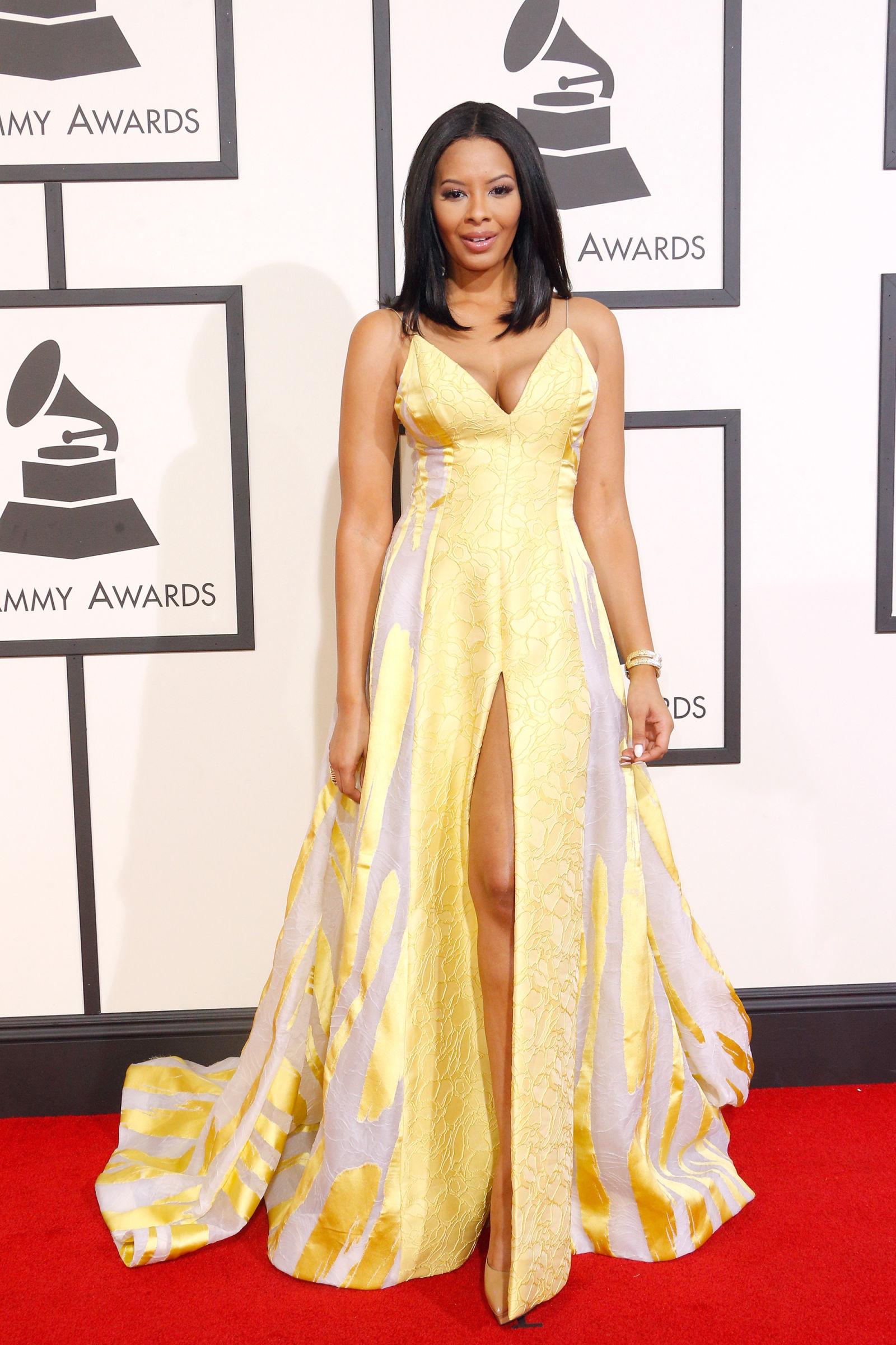 VANESSA SIMMONS celebrity hairstyles 2016 Grammys