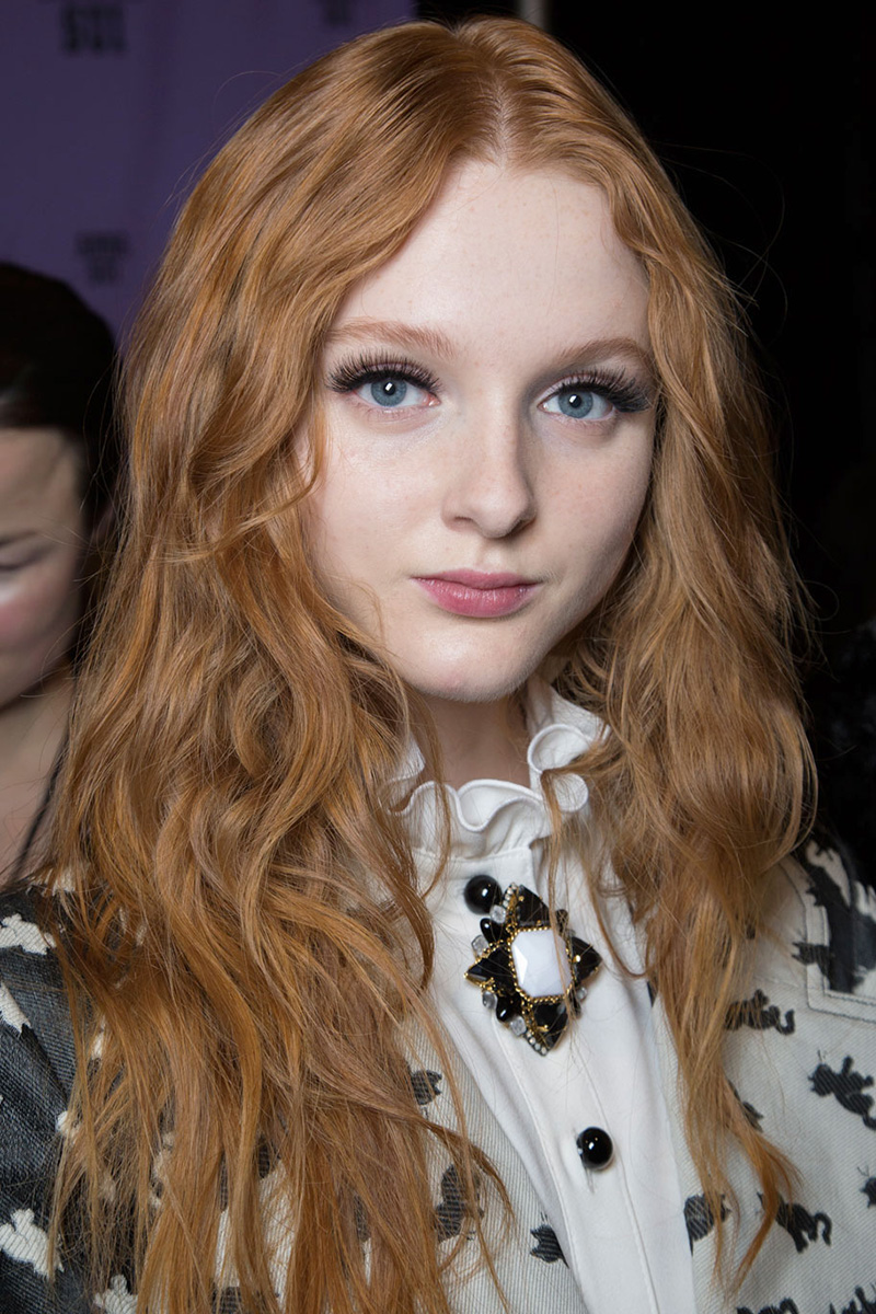 Anna Sui hairstyles 2016 Fall