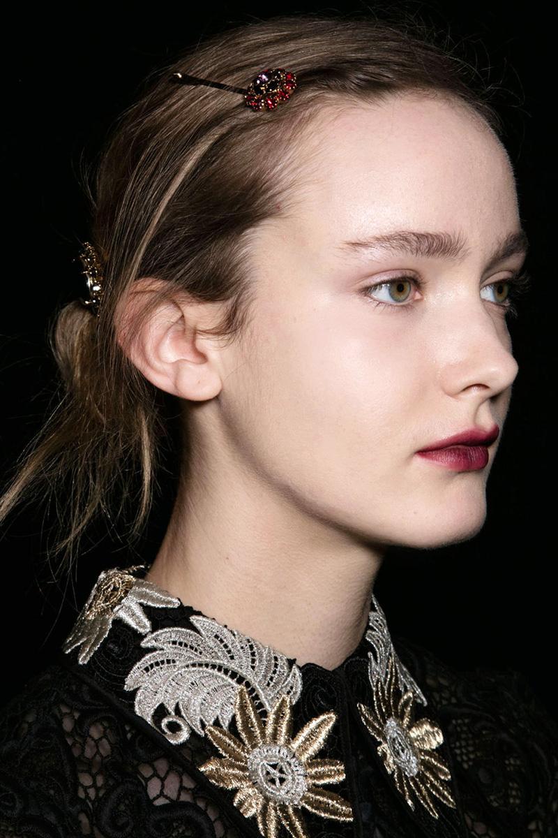 Erdem hairstyles 2016 fall
