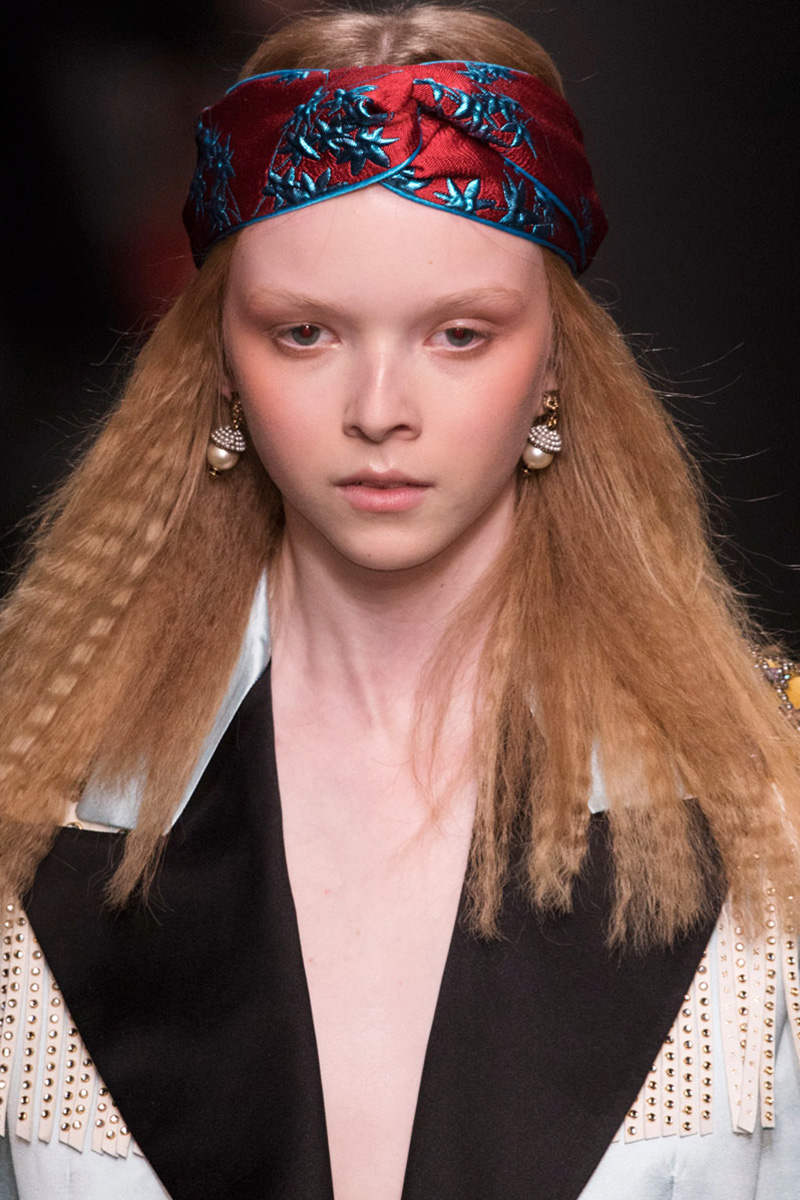 Gucci hairstyles 2016 fall