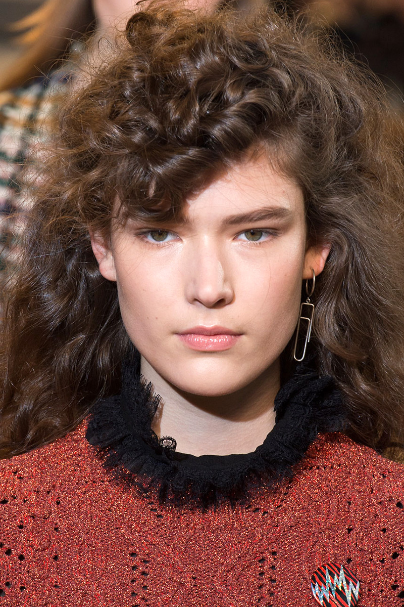 Isabel Marant hairstyles 2016 Fall
