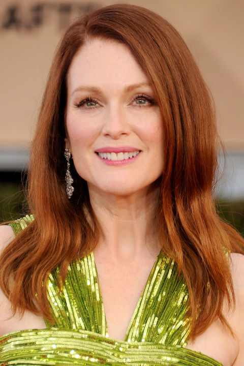 Julianne Moore Hairstyles 2016 Summer