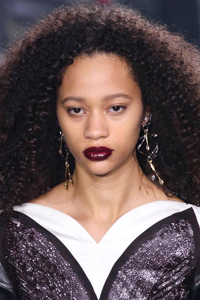 Louis Vuitton hairstyles 2016 Fall