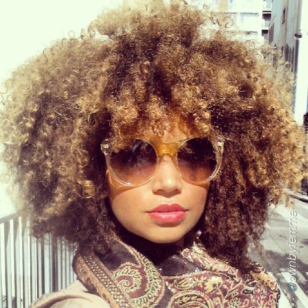 Naturally curly black hairstyles for summer 2016