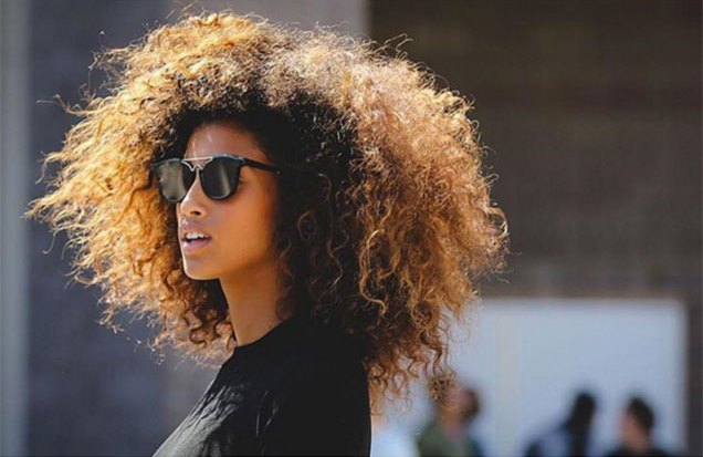 Naturally curly summer hairstyles