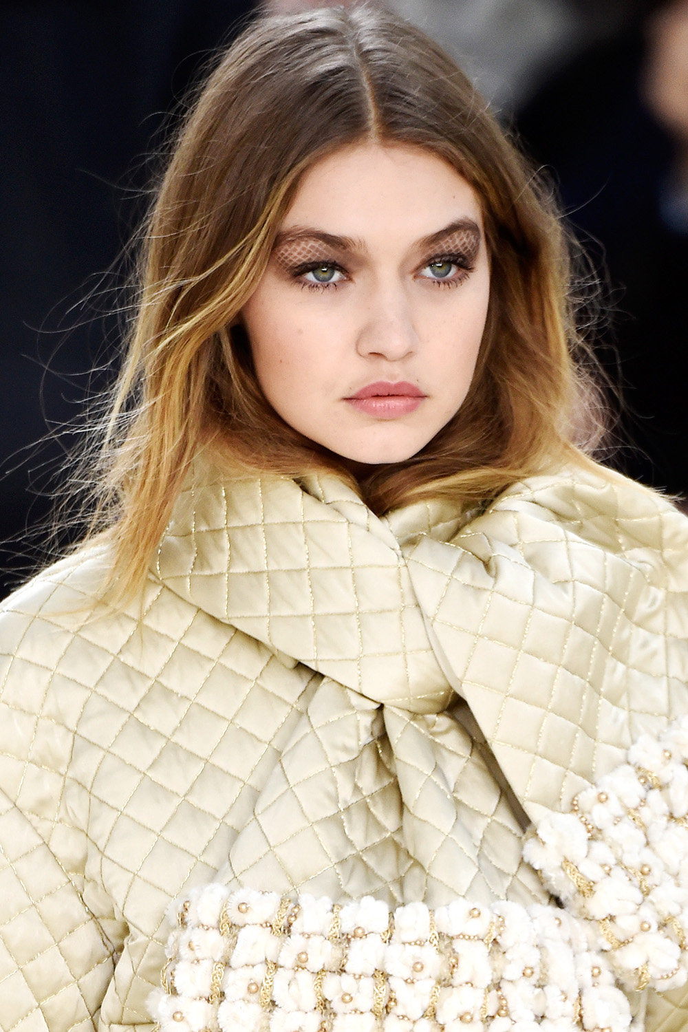 PFW Fall 2016 hairstyles - Chanel
