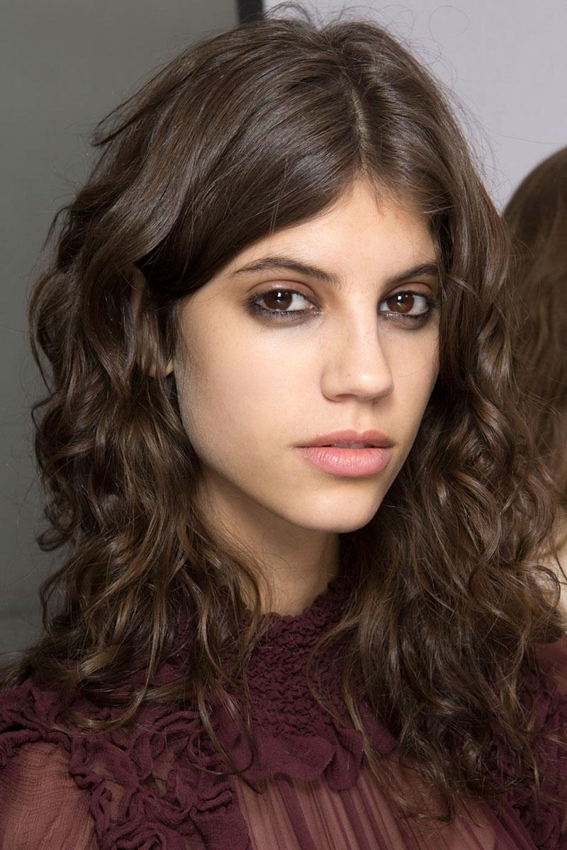 PFW Fall 2016 hairstyles - Chloé