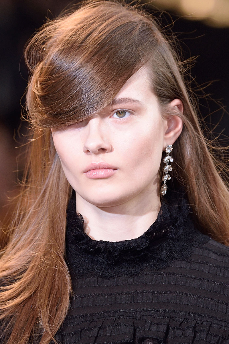 PFW Fall 2016 hairstyles - Isabel Marant