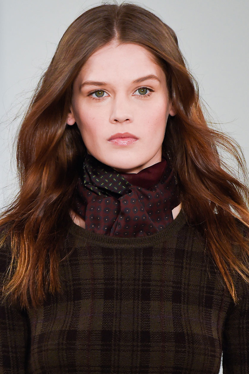 Ralph Lauren hairstyles 2016 Fall