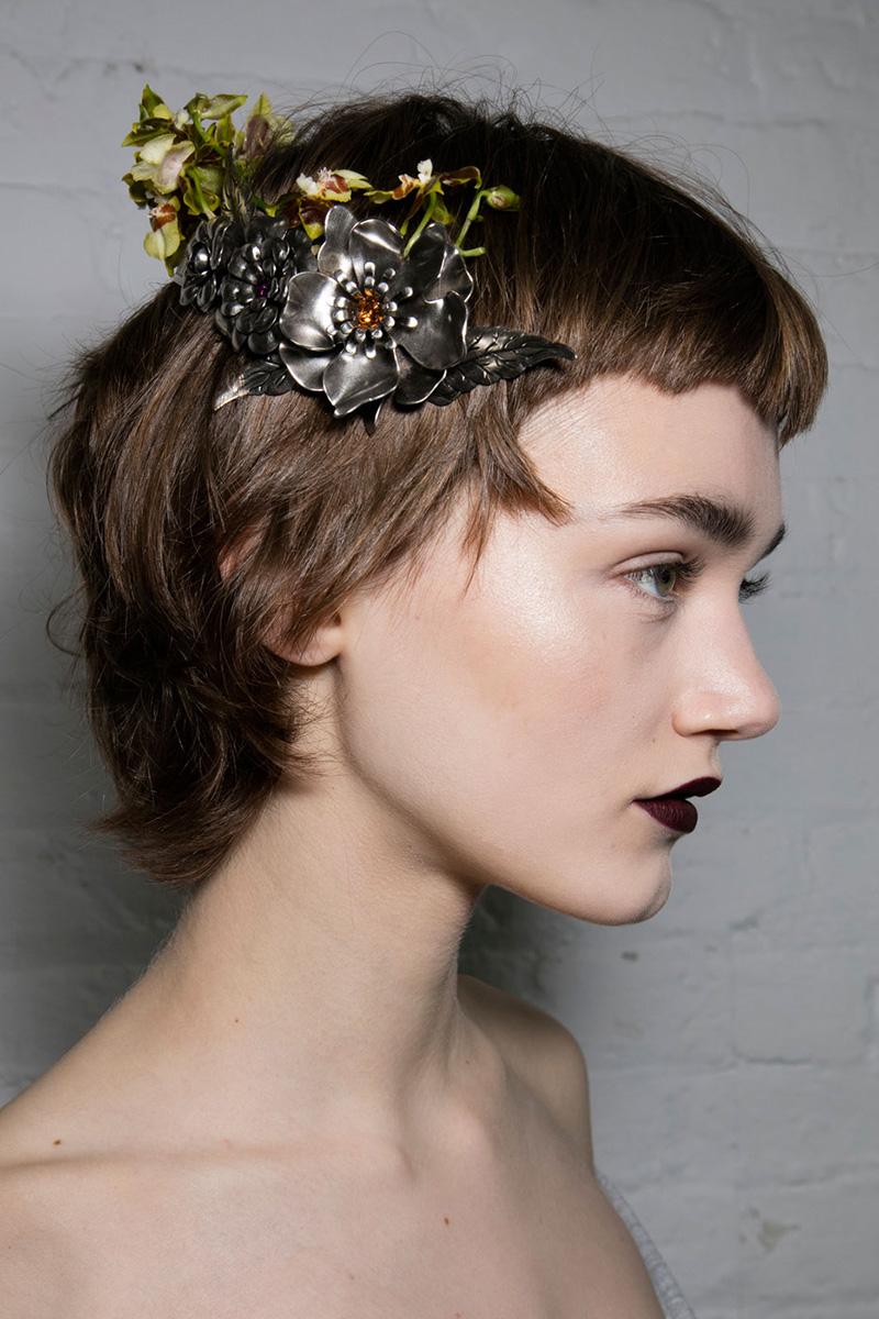 Rodarte hairstyles 2016 fall