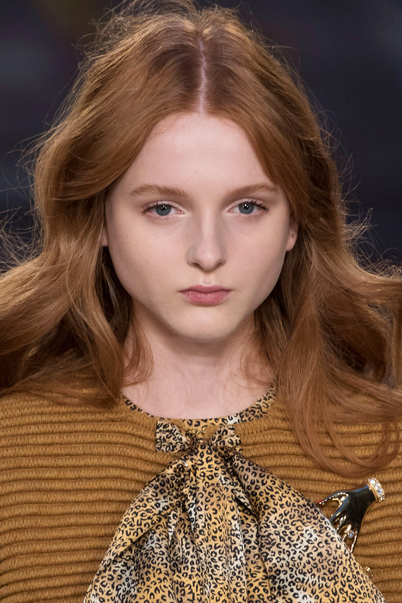 Sonia Rykiel hairstyles 2016 Fall