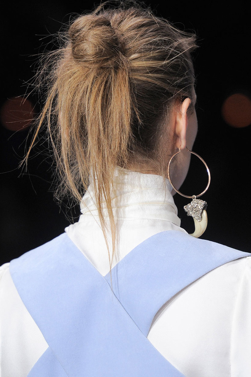 Temperley London hairstyles 2016 fall