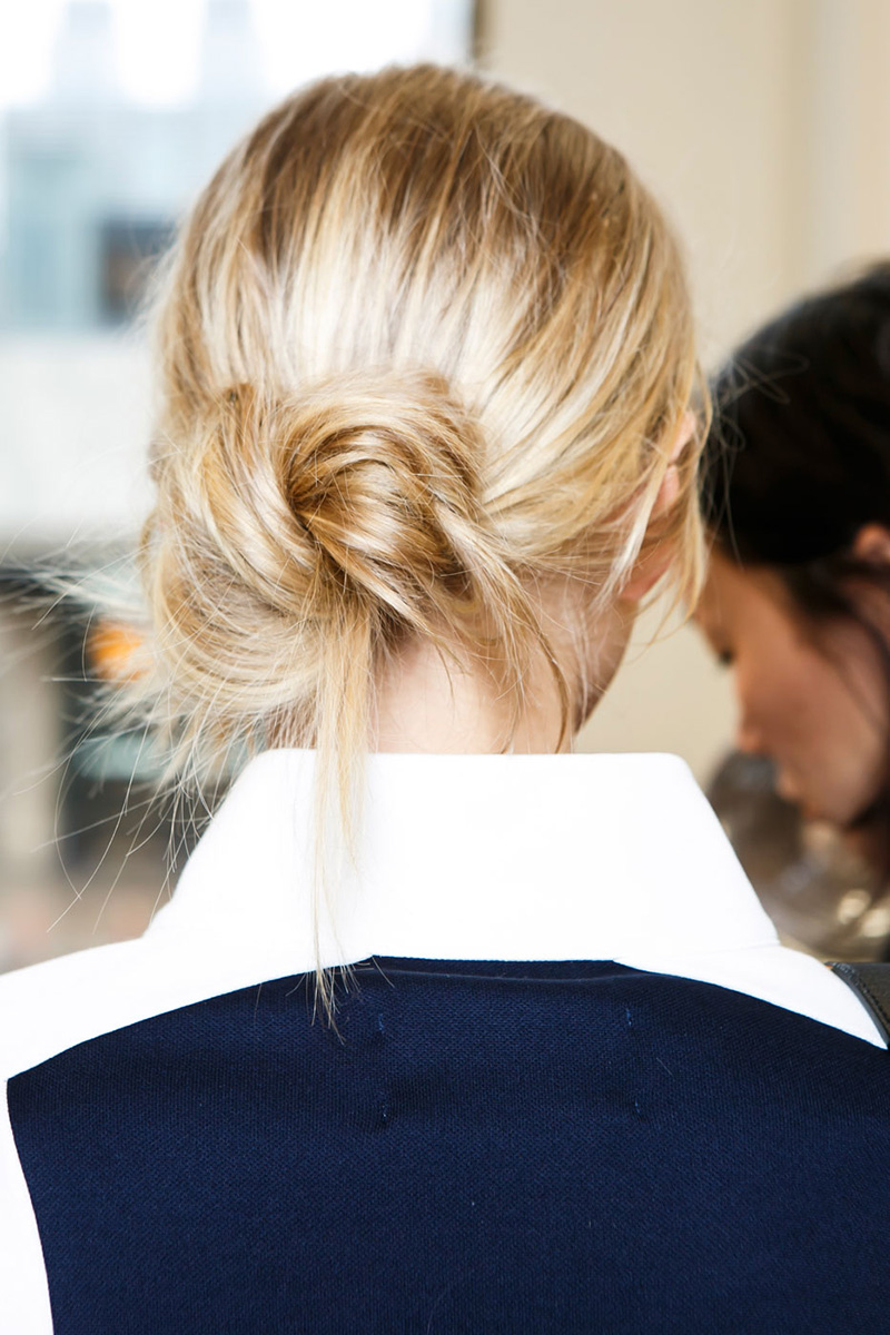 Tory Burch hairstyles 2016 fall