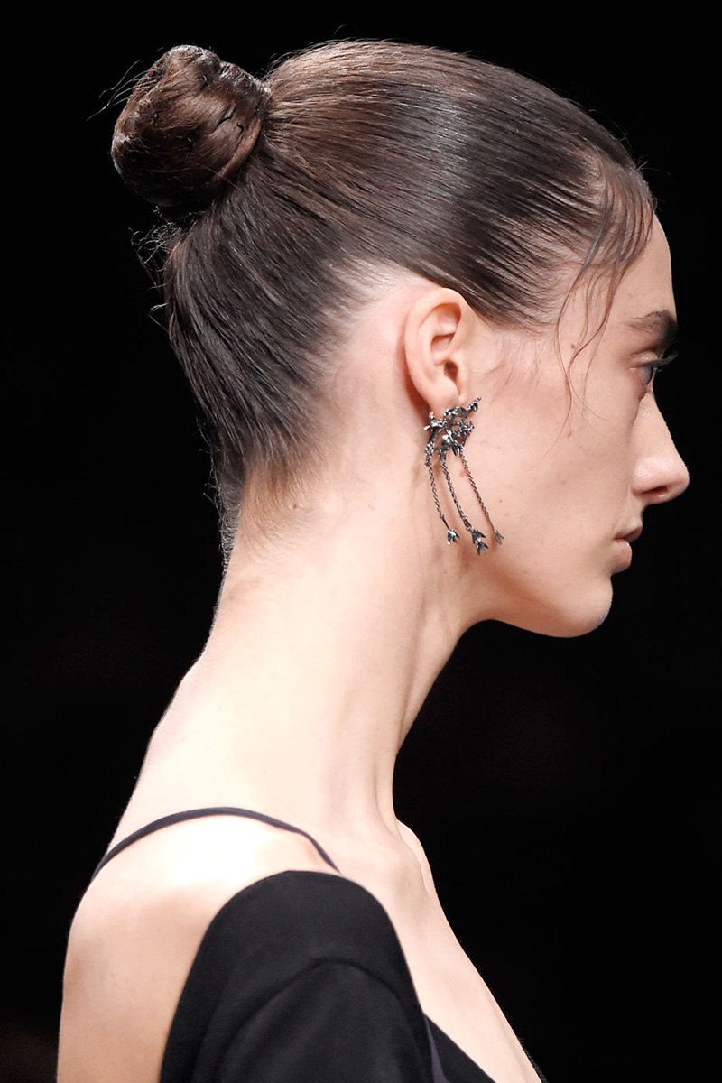 Valentino hairstyles 2016 fall