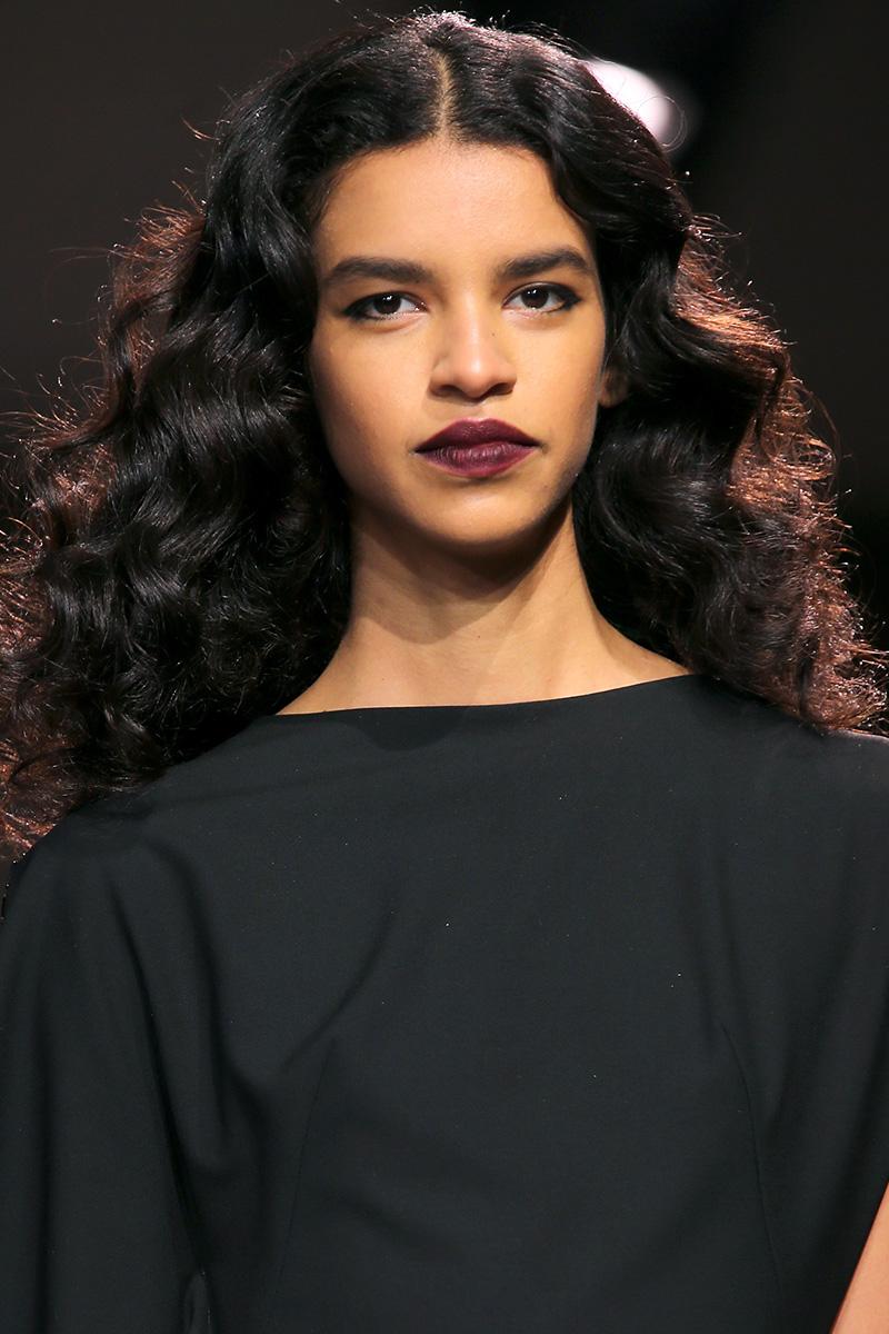 Zac Posen Fall 2016 hairstyles from New York Fashion Week