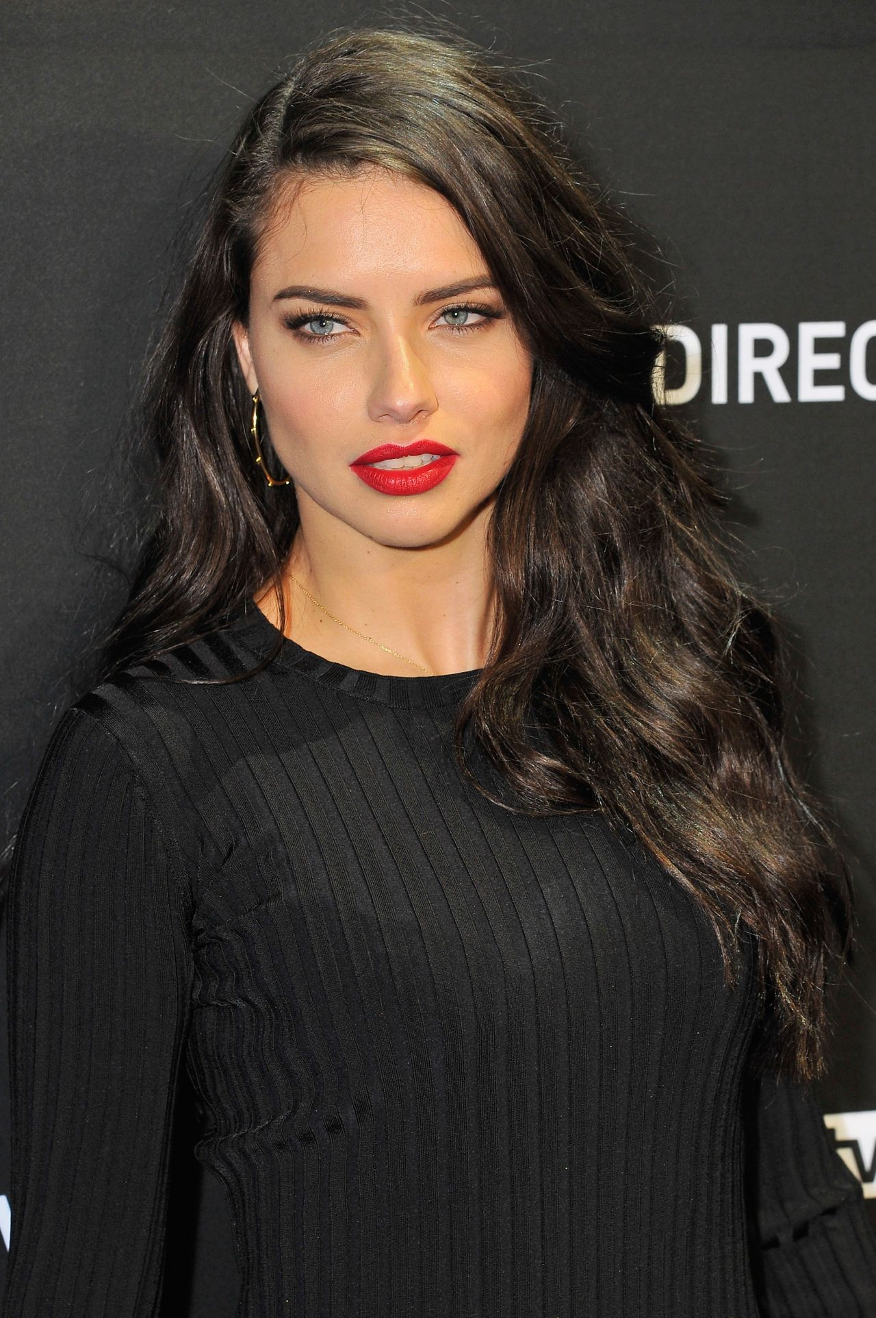 Adriana Lima Celebrity hairstyles 2016 summer