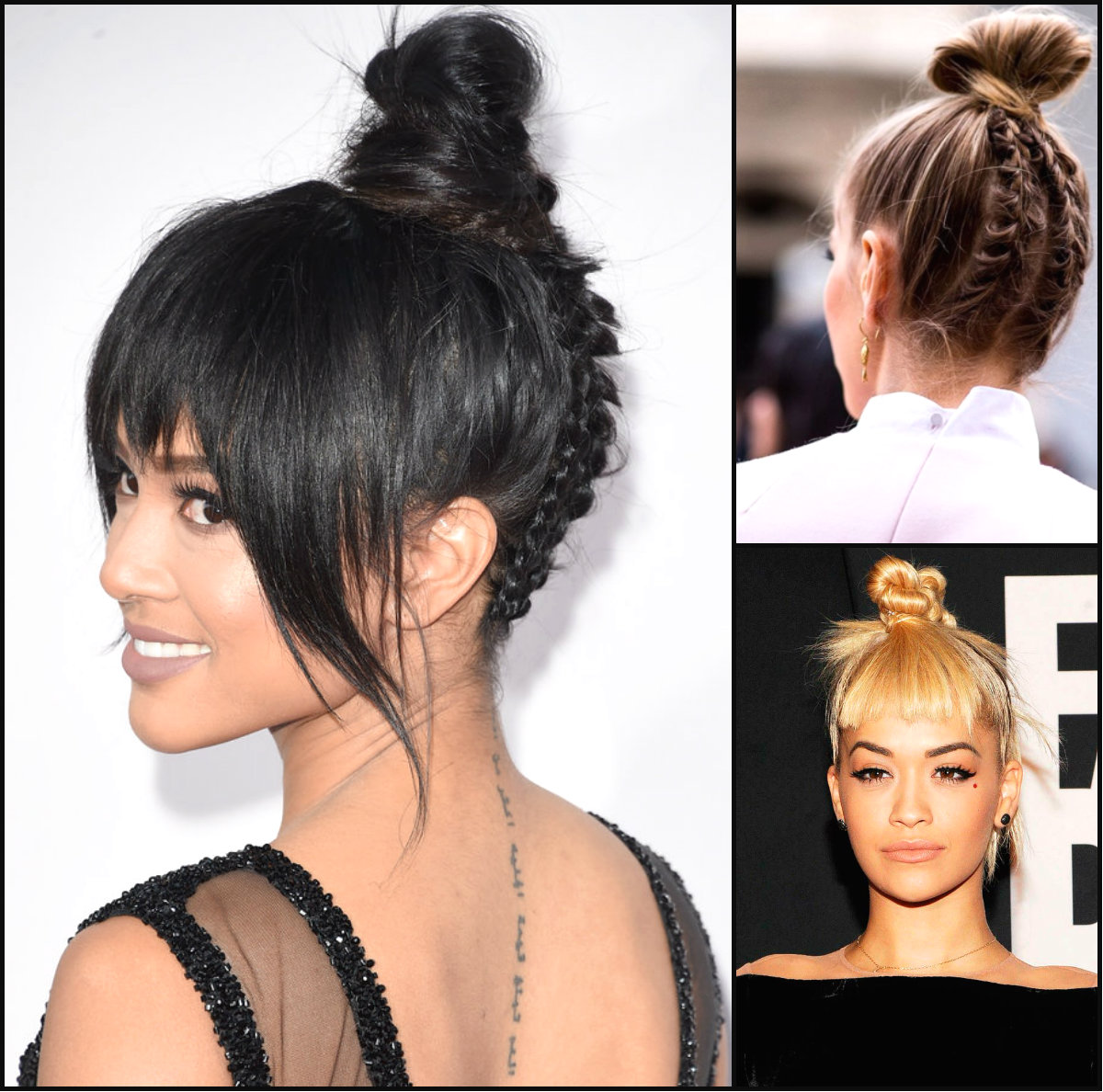 Pleasant Bun Hairstyles Archives Hairstyles 2016 Hair Colors And Haircuts Short Hairstyles Gunalazisus