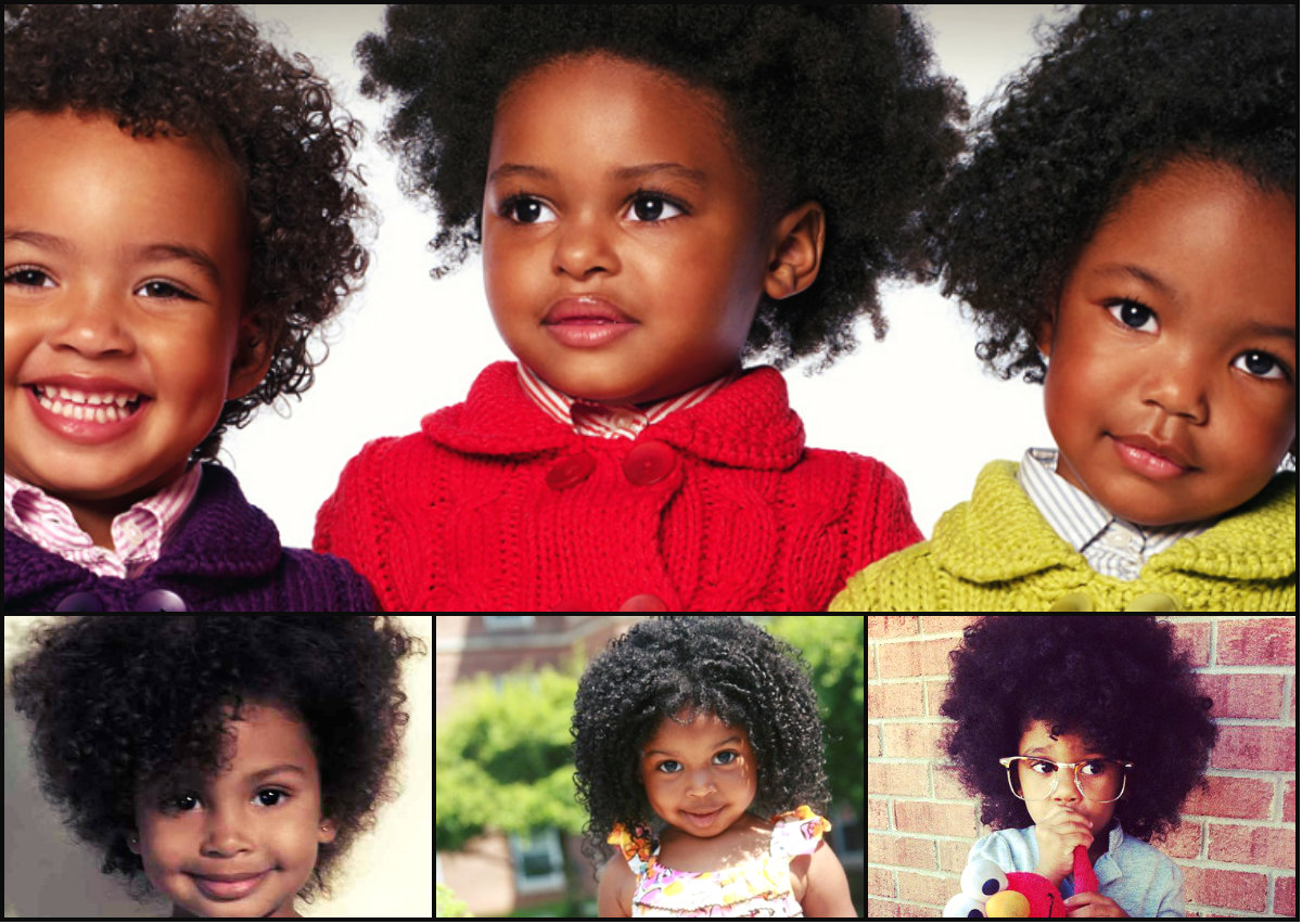 Cutest Black Kids Afro Hairstyles