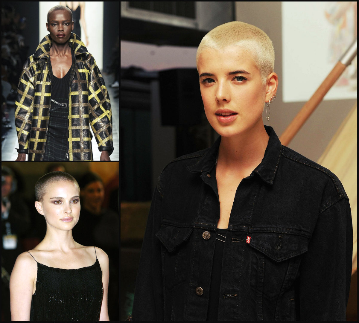 Celebrity buzz cut hairstyles
