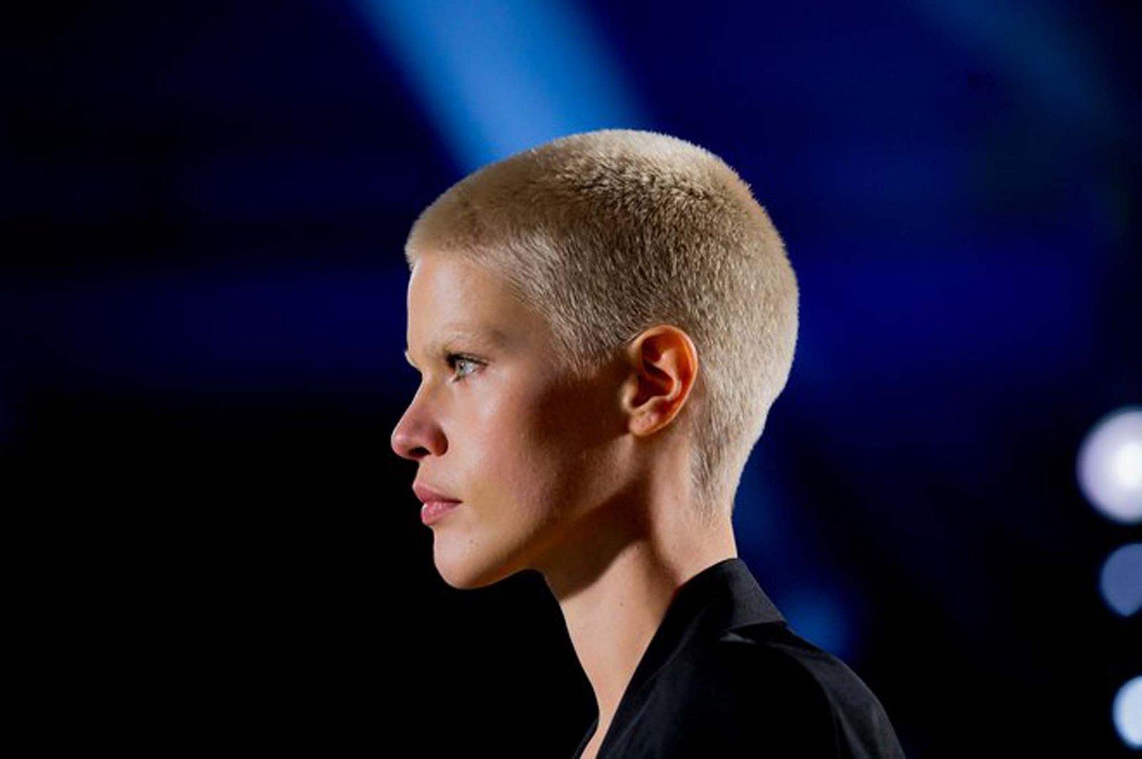 Kris Gottschalk buzz cut hairstyles