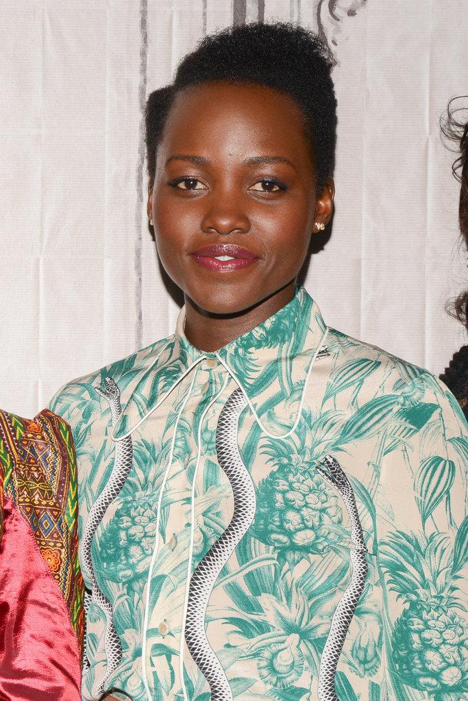 Lupita Nyongo Celebrity hairstyles 2016 summer