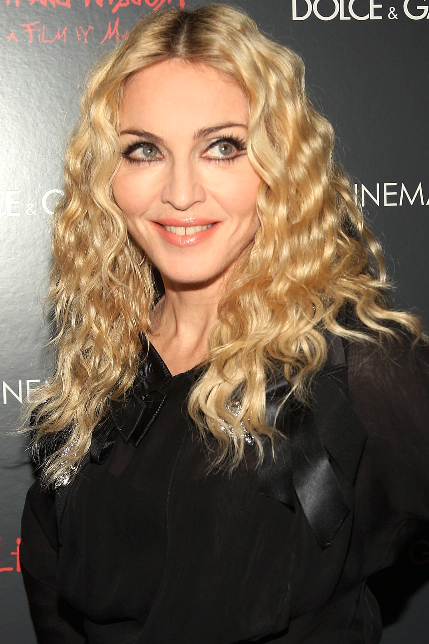 MADONNA Curly Hairstyles