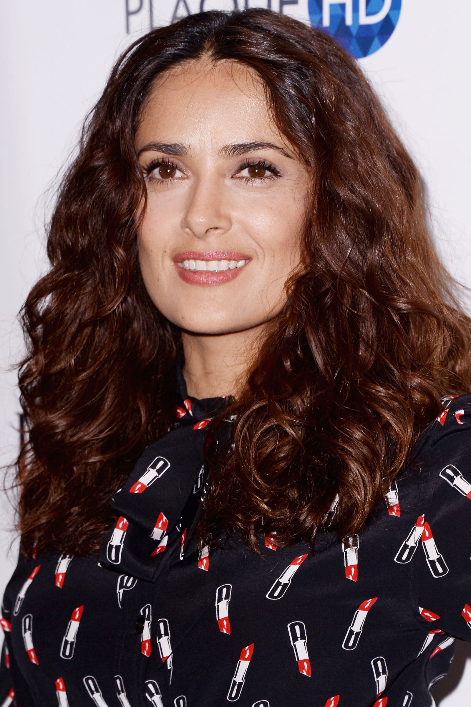 SALMA HAYEK Curly Hairstyles