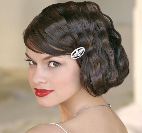 Faux bob wedding hairstyles