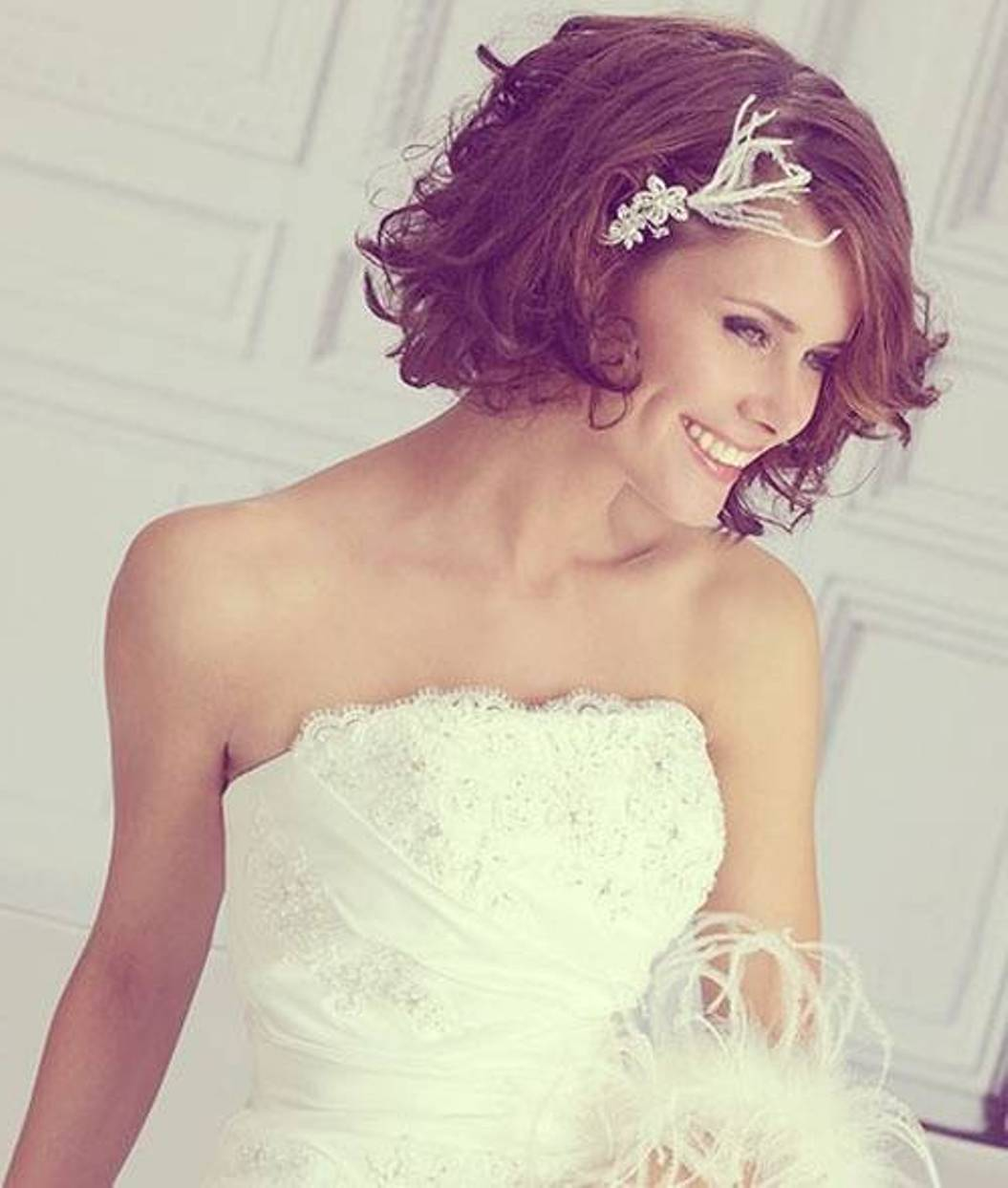 Summer wedding bob hairstyles