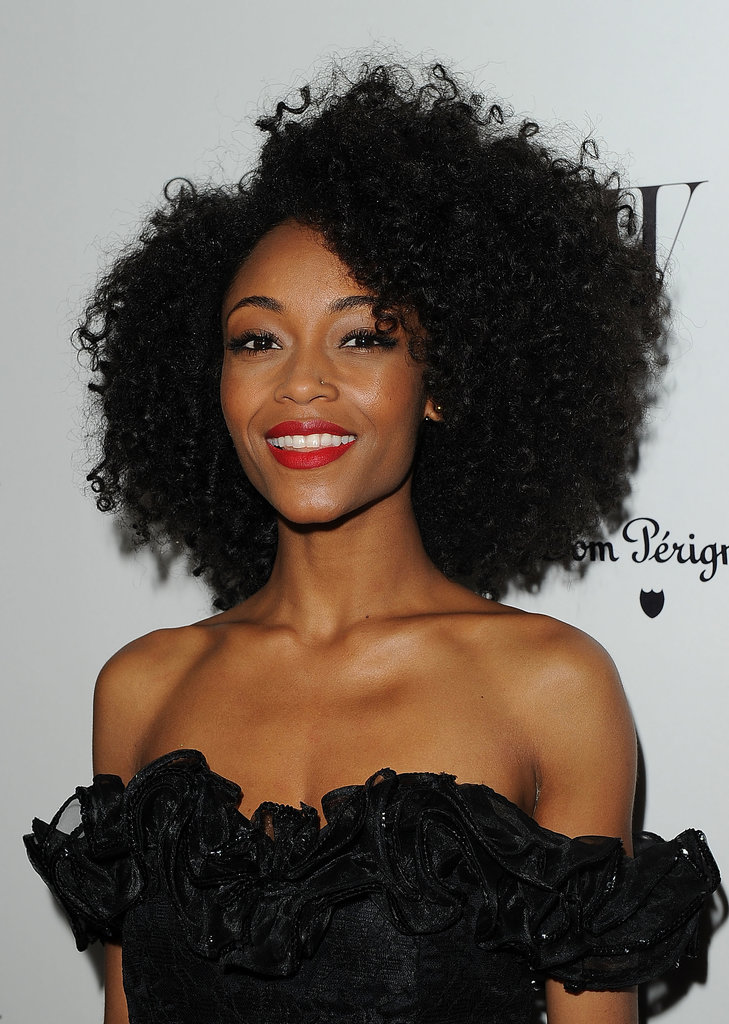 Yaya DaCosta Celebrity hairstyles 2016 summer