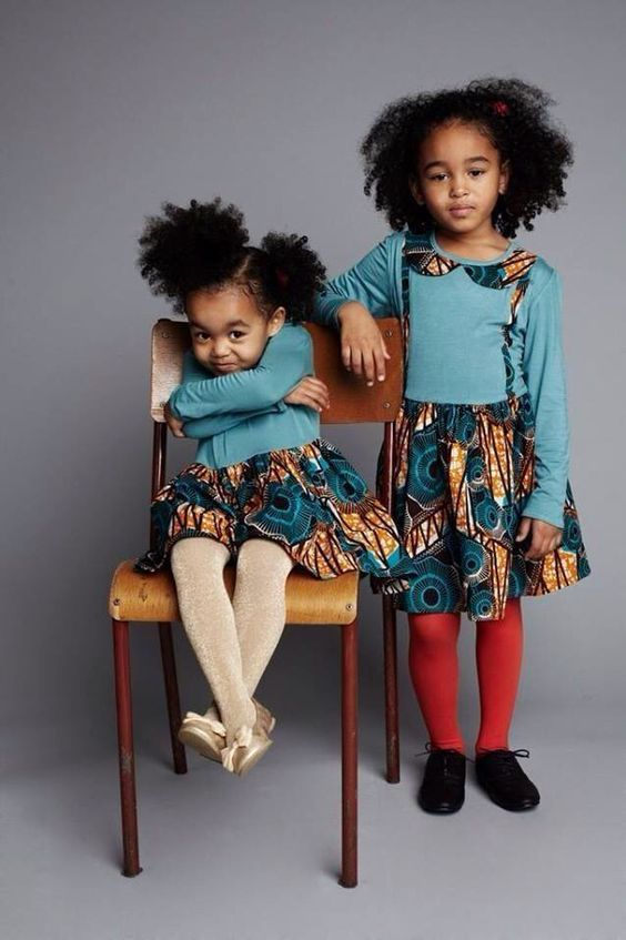black kids cute afros