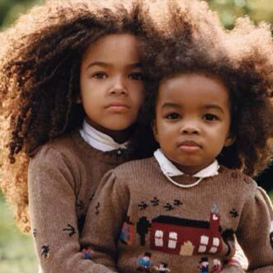 black kidslong afro hairstyles