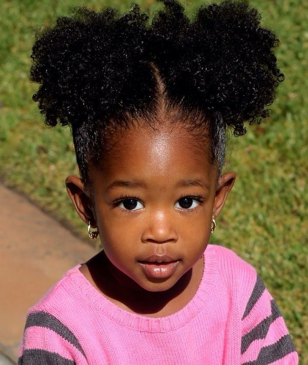 black kids afro knots hairstyles