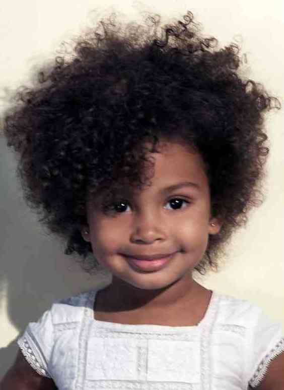 black kids short afro